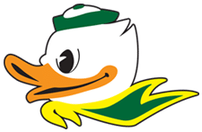 Ducks Mascot Dr. W. Gray Grieve Orthodontics Eugene OR